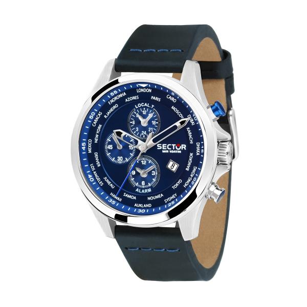 cfc89e009a2 Relógio SECTOR 180 Azul R3251180023 ...