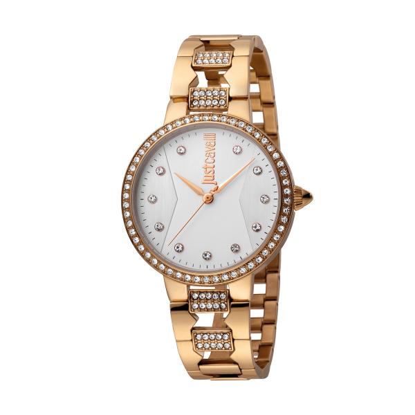 Relógio JUST CAVALLI Rock Ouro Rosa JC1L031M0095