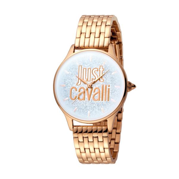 Relógio JUST CAVALLI Glam Chic Ouro Rosa JC1L043M0045