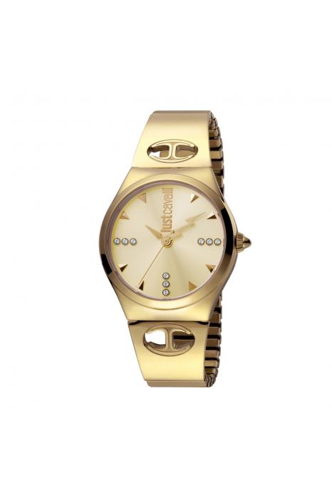Relógio JUST CAVALLI Logo Dourado