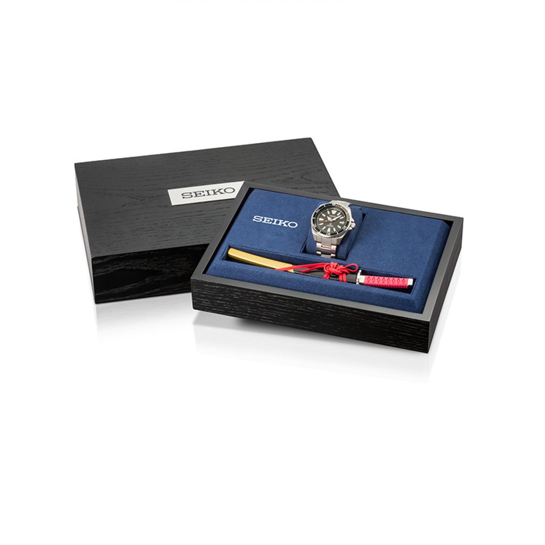 Gift Set Especial Relógio SEIKO Prospex Samurai
