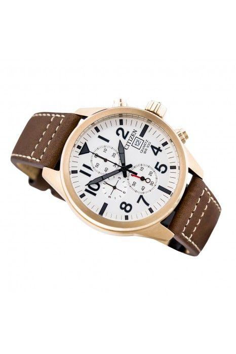 Relógio CITIZEN Sport Crono Castanho
