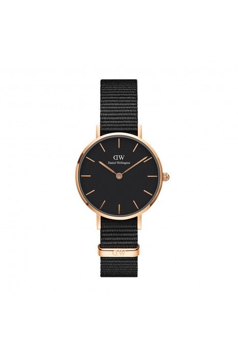 Relógio Daniel Wellington Classic Petite Black Cornwall