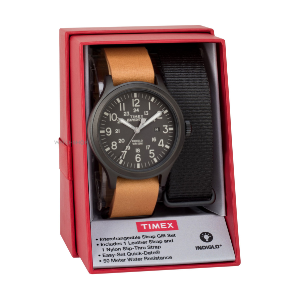 Gift Set Relógio TIMEX Scout TWG016200