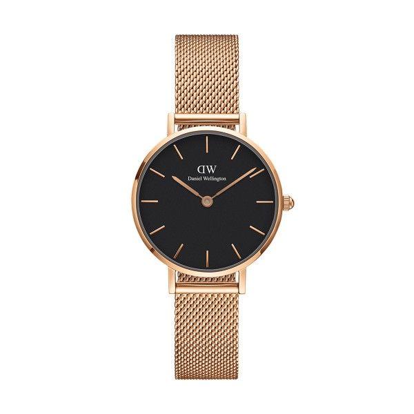 Relógio Daniel Wellington Classic Petite Black Melrose DW00100217