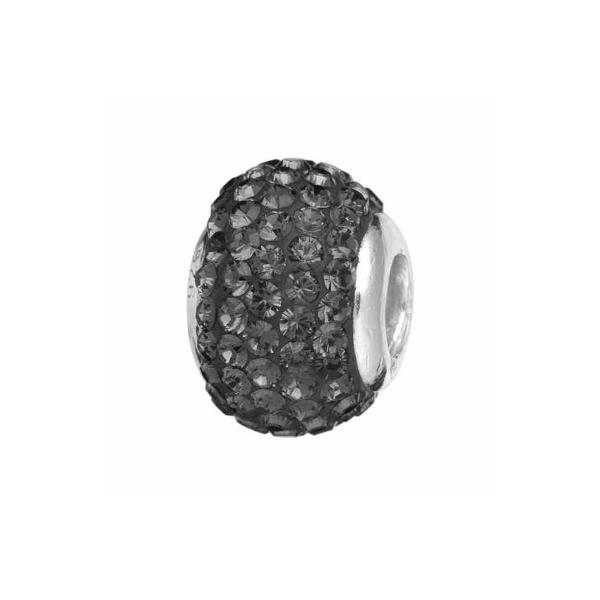 Conta SILVERADO Pedras Pretas TO-BL014