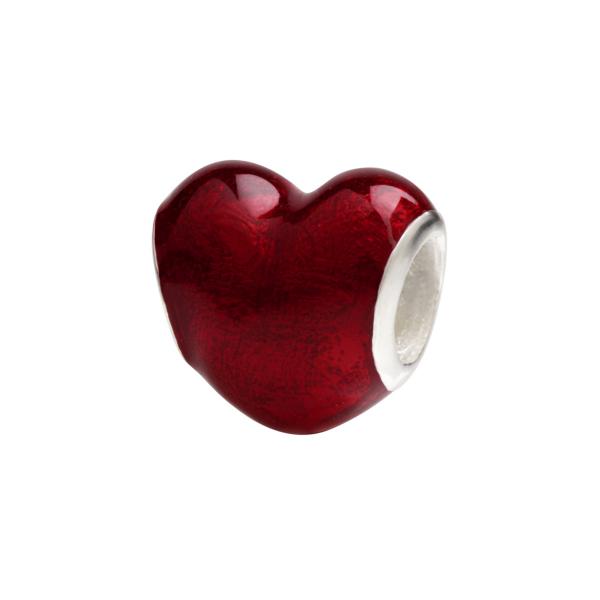 Conta SILVERADO Coração Vermelho ENB029-RD03
