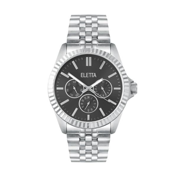 Relógio ELETTA Crown Prateado ELA590MPMS