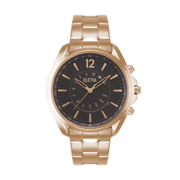 Relógio ELETTA Sync Ouro Rosa ELA710SCMR