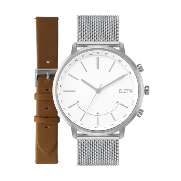 Relógio ELETTA Sync Prateado ELA720SBMS