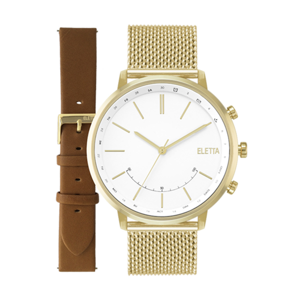Relógio ELETTA Sync Dourado ELA720SBMG