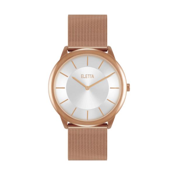 Relógio ELETTA Design Ouro Rosa ELA310LBMR