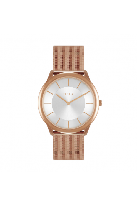 Relógio ELETTA Design Ouro Rosa