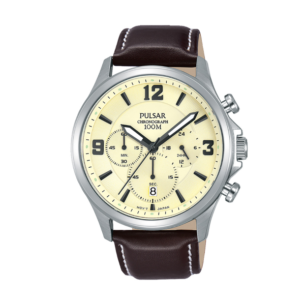 Relógio PULSAR Casual Bege PT3875X1