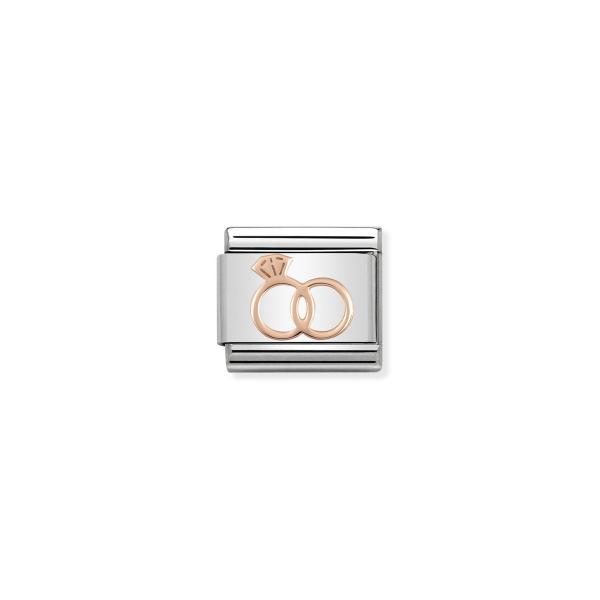 Charm Link NOMINATION Anel Noivado 430104-13