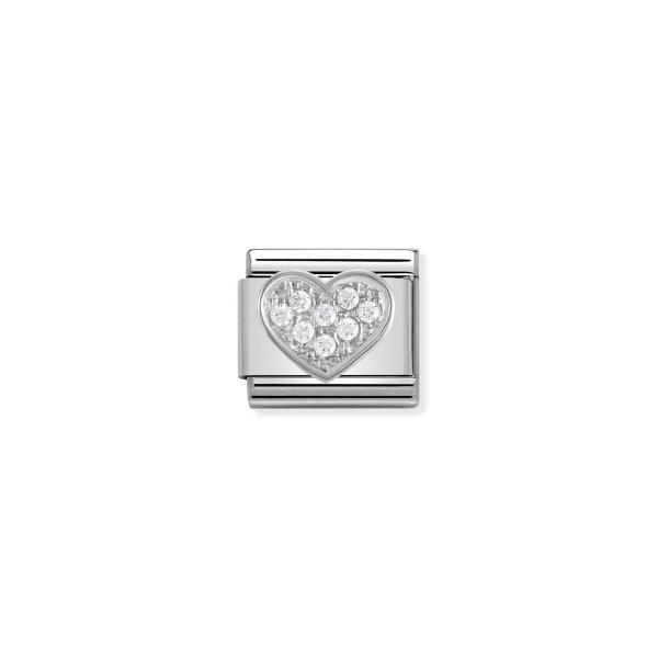 Charm Link NOMINATION Letra M Silver 330304-01