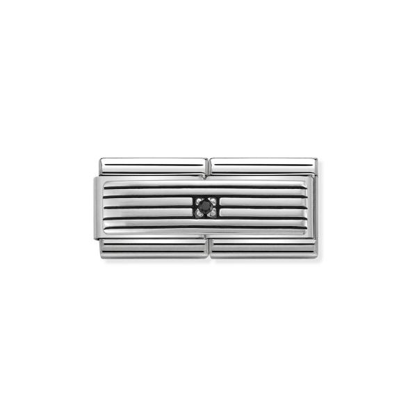 Charm Link NOMINATION Classic Linhas Silver 330730-01