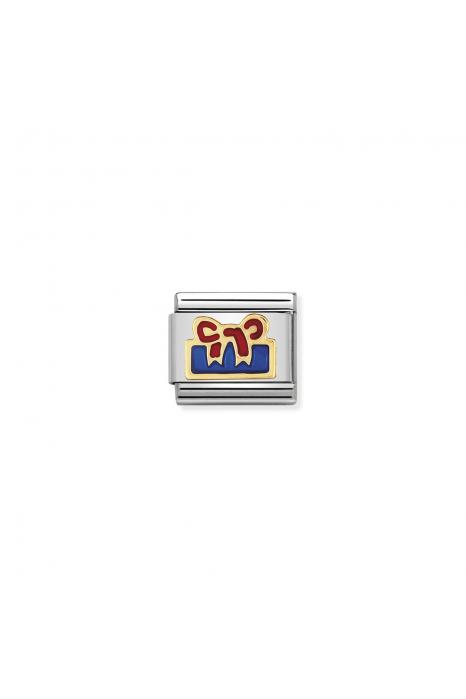 Charm Link NOMINATION Presente Azul