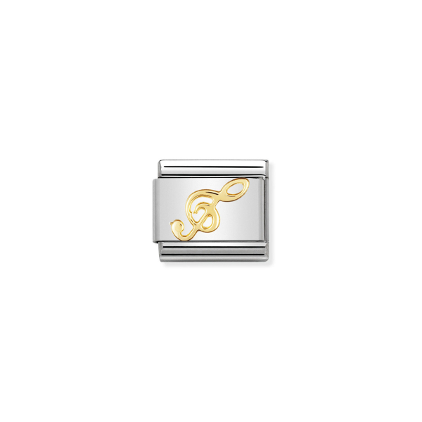 Charm Link NOMINATION Clave de Sol 030117-08