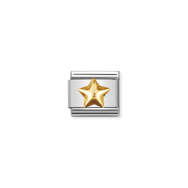 Charm Link NOMINATION Estrela (com relevo) 030110-12