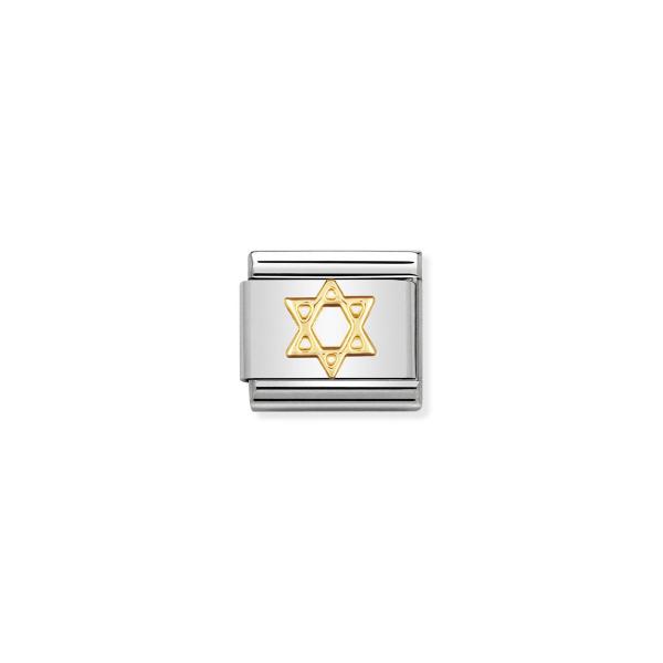Charm Link NOMINATION Estrela de David 030105-05