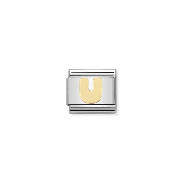 Charm Link NOMINATION Letra U 030101-21