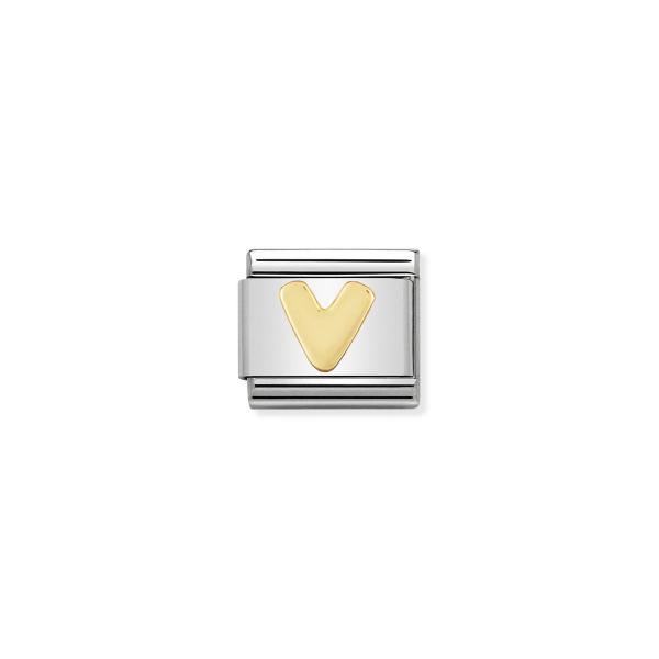 Charm Link NOMINATION Letra V 030101-22
