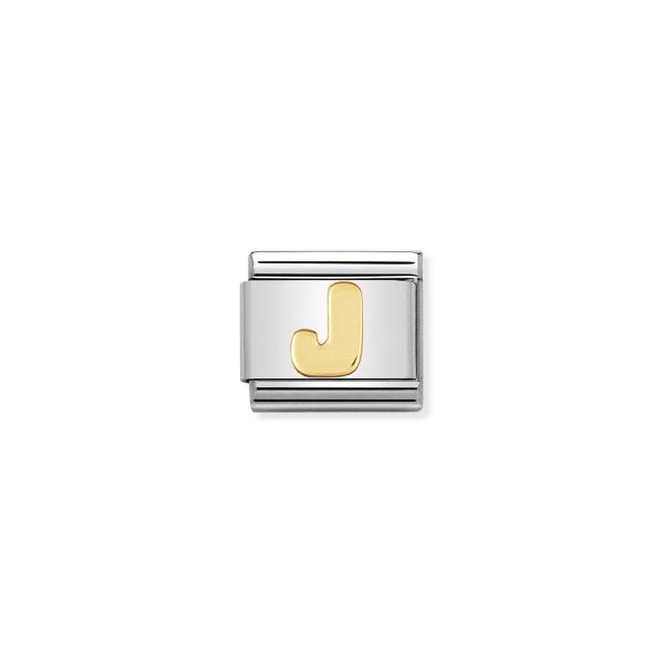 Charm Link NOMINATION Letra J 030101-10