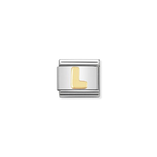 Charm Link NOMINATION Letra L 030101-12