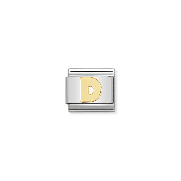 Charm Link NOMINATION Letra D 030101-04