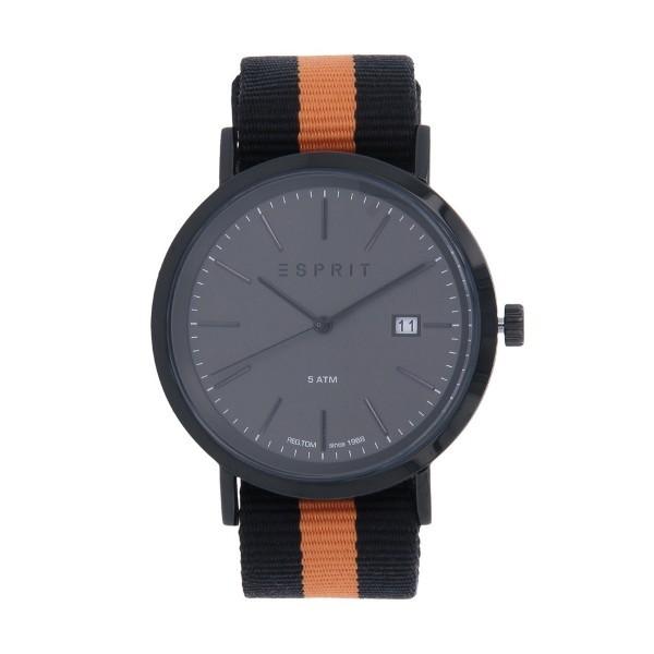 Relógio ESPRIT Alan Gun Preto e Laranja ES108361001