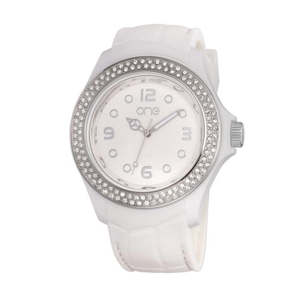 Relógio ONE COLORS Eclat Branco OA2076BB72T