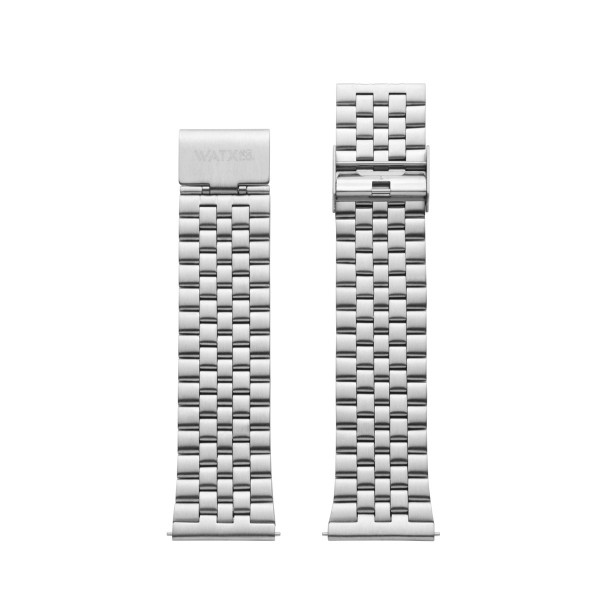 Bracelete WATX 44 Basic Prateada WXCO3700