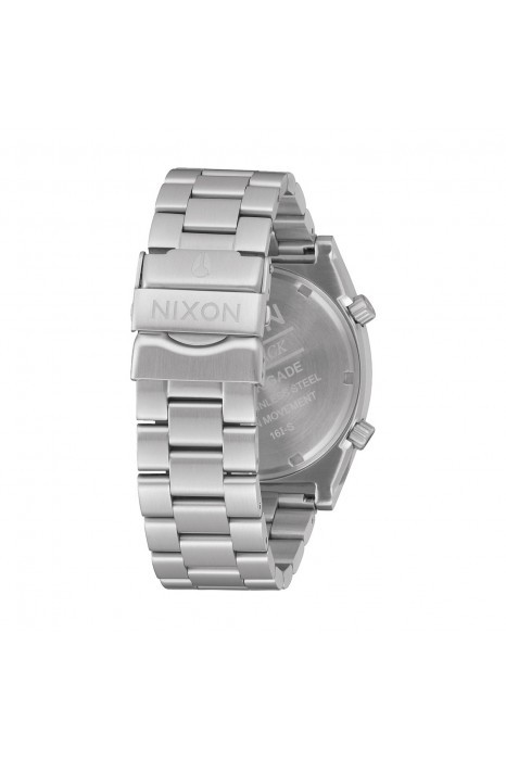 Relógio NIXON Brigade Prateado
