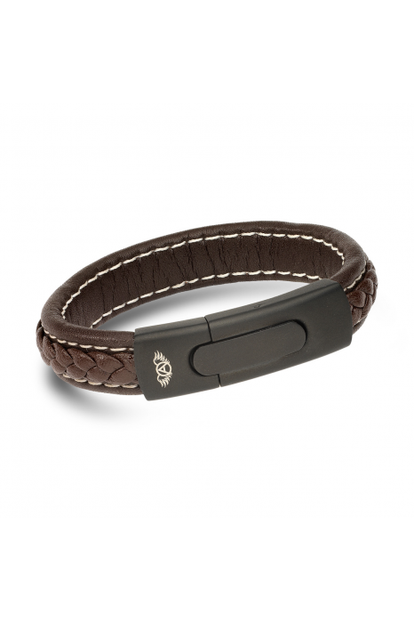 Pulseira ANJEWELS Brown Braid