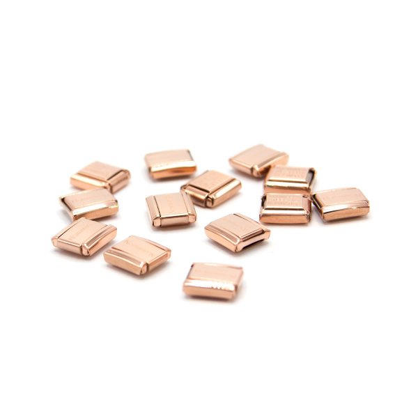 Base de 13 Links NOMINATION Composable Classic Ouro Rosa 030001-SI-011