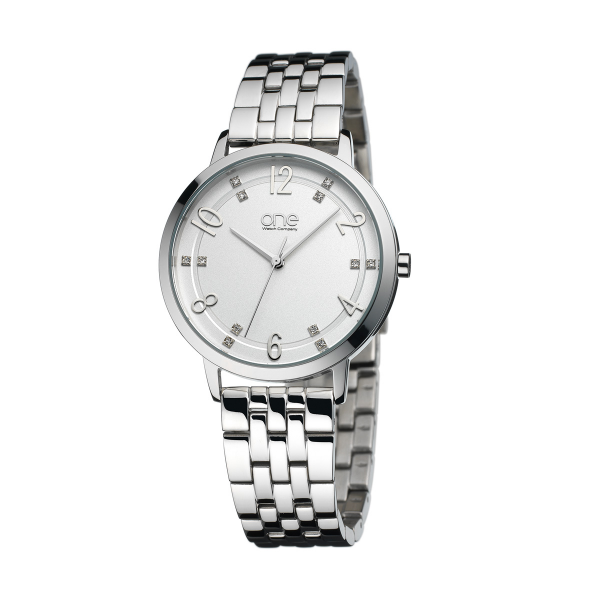 Relógio ONE Sided Prateado OL0060SS72W
