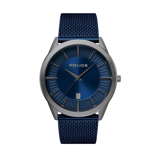 Relógio POLICE Patriot Azul P15305JSU03MM