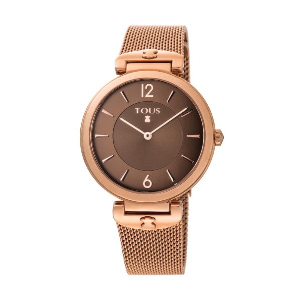 Relógio TOUS S-Mesh Ouro Rosa 700350290