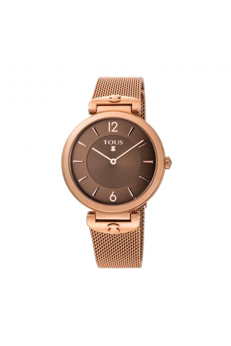 Relógio TOUS S-Mesh Ouro Rosa