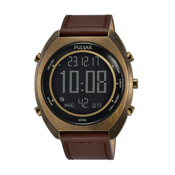 Relógio PULSAR X Castanho P5A030X1
