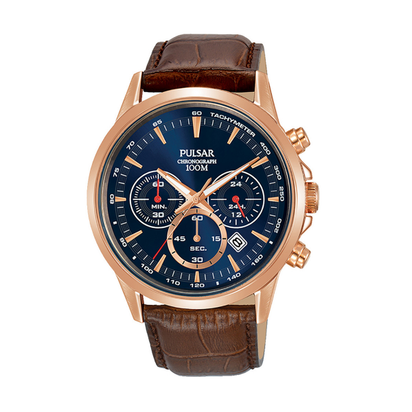 Relógio PULSAR Active Castanho PT3922X1