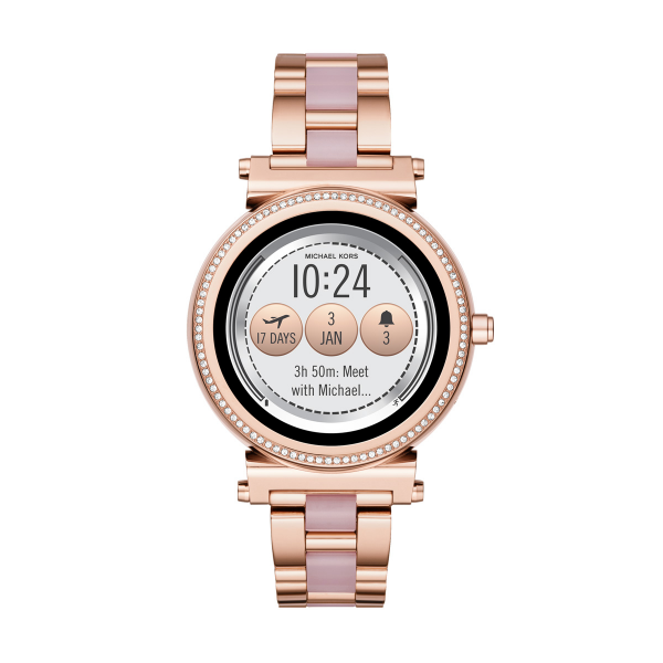 Relógio Smartwatch MICHAEL KORS ACCESS Sofie 1.0 Ouro Rosa MKT5041