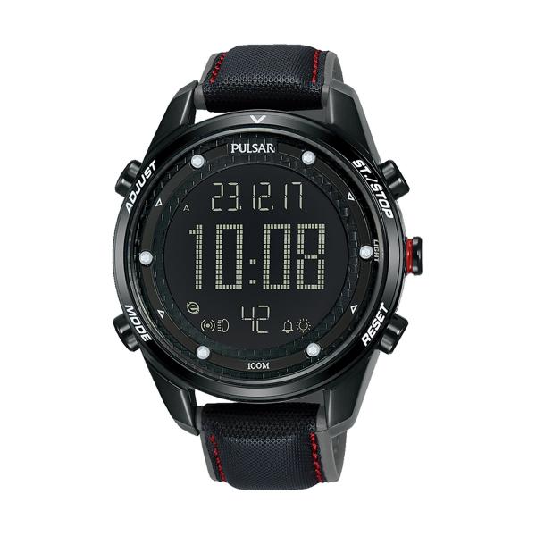 Relógio PULSAR Active Preto P5A027X1