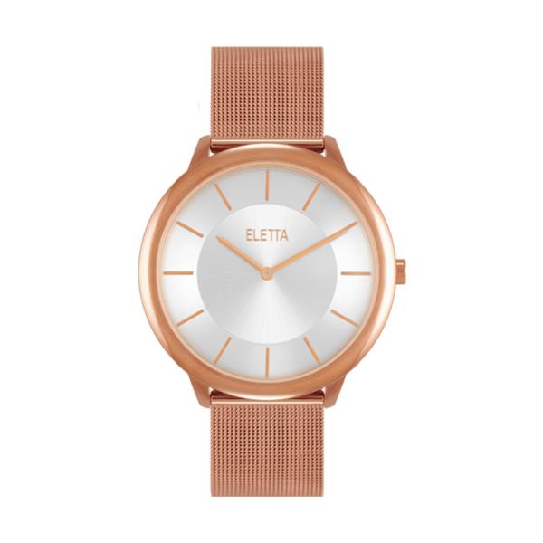 Relógio ELETTA Sterling Ouro Rosa ELA315LBMR