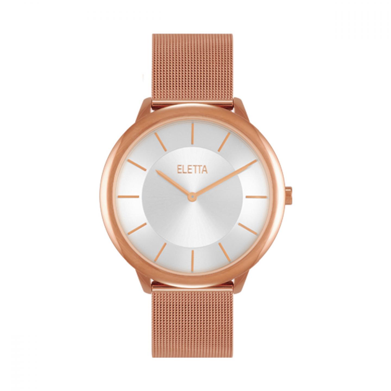 Relógio ELETTA Sterling Ouro Rosa