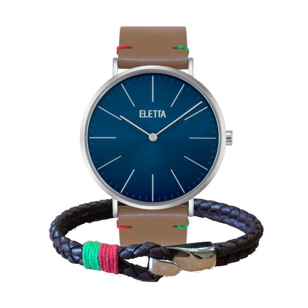 Relógio ELETTA Drive Castanho ELD010GACSX