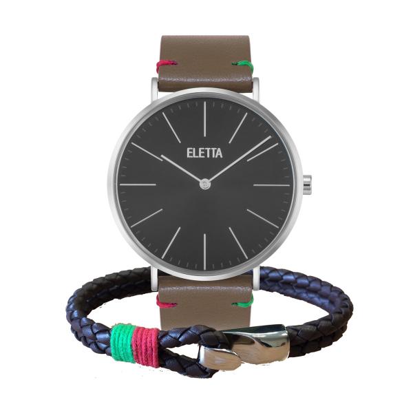 Relógio ELETTA Drive Castanho ELD010GPCSX