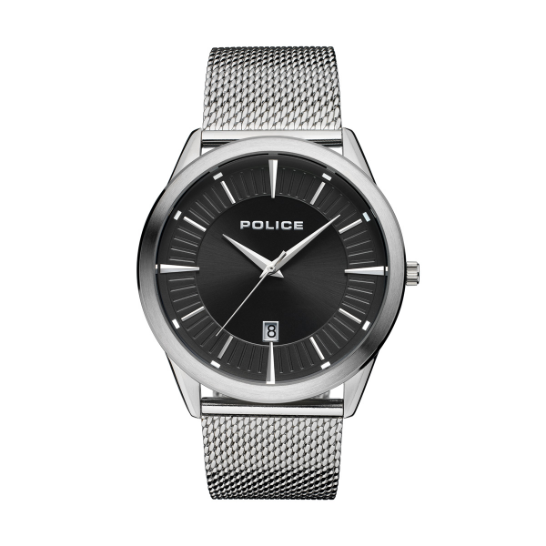 Relógio POLICE Patriot Prateado P15305JS02MM