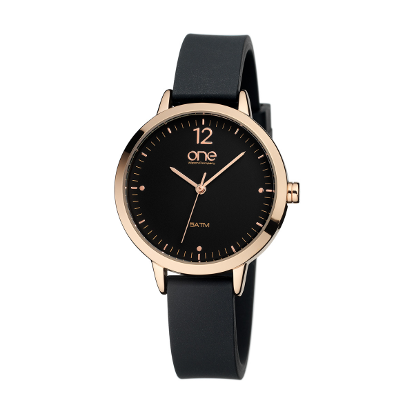 Relógio ONE COLORS Nuance Preto OM1845PP81T